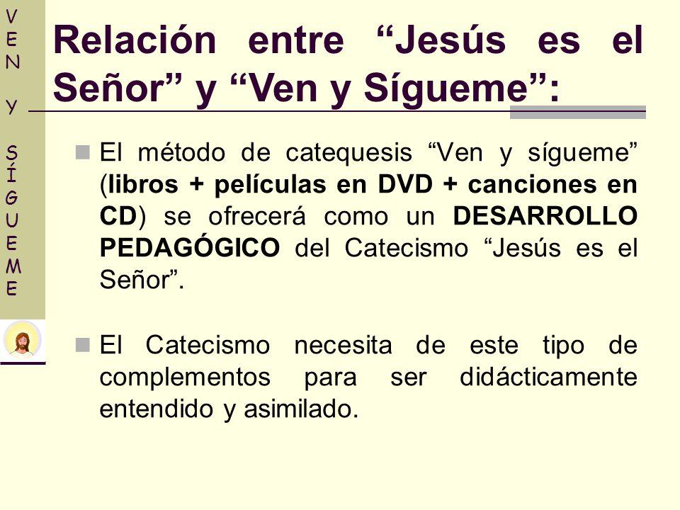 Relación entre Jesús es el Señor y Ven y Sígueme :