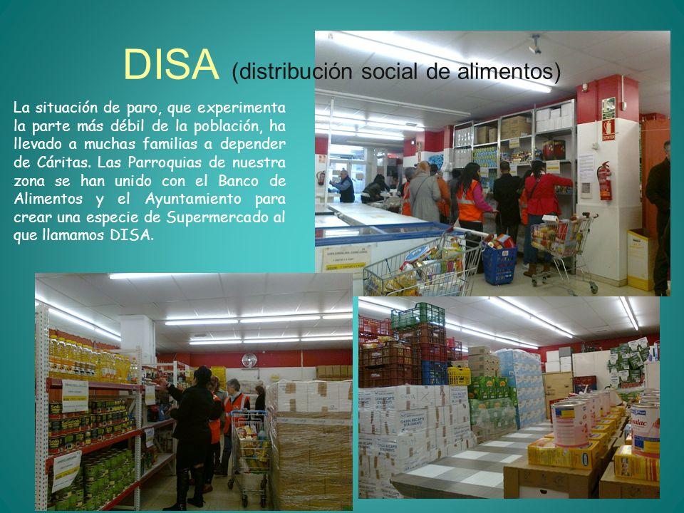 DISA (distribución social de alimentos)