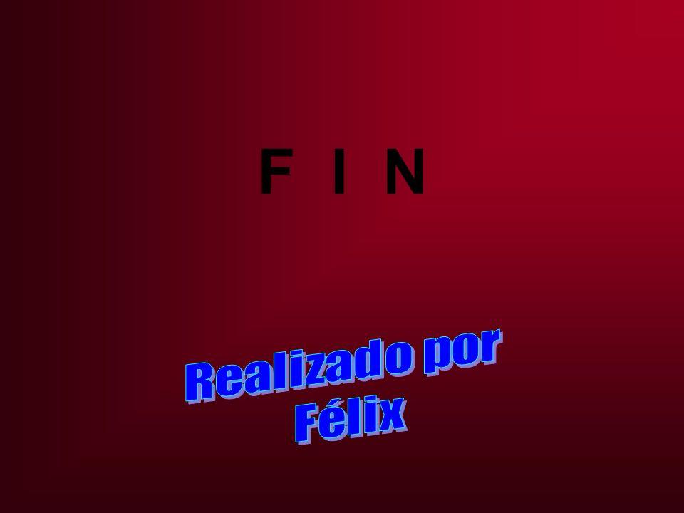 F I N Realizado por Félix