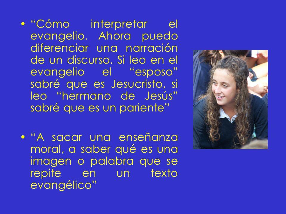 Cómo interpretar el evangelio
