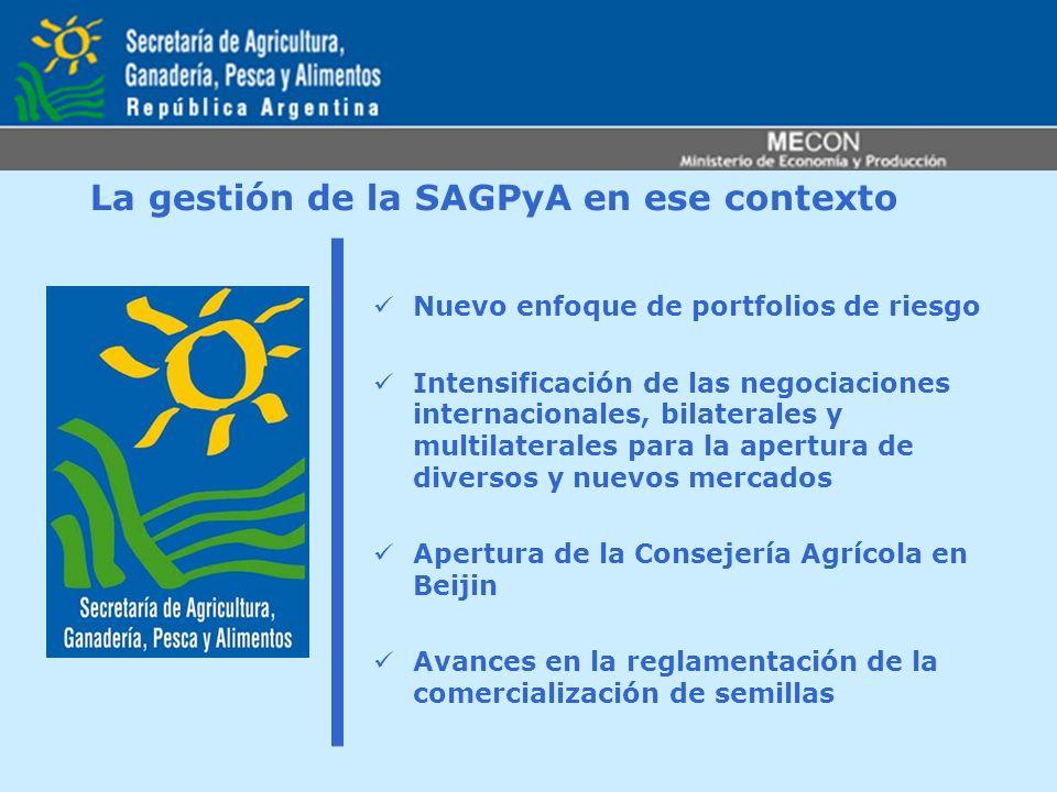 La gestión de la SAGPyA en ese contexto