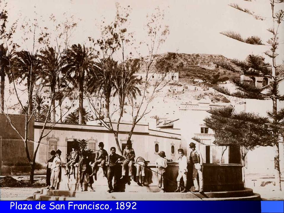 Plaza de San Francisco, 1892
