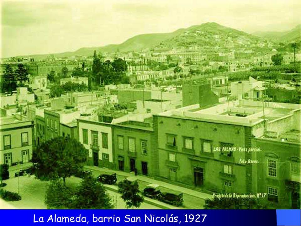 La Alameda, barrio San Nicolás, 1927