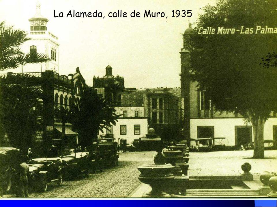 La Alameda, calle de Muro, 1935
