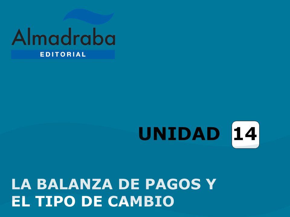 UNIDAD 14 LA BALANZA DE PAGOS Y EL TIPO DE CAMBIO