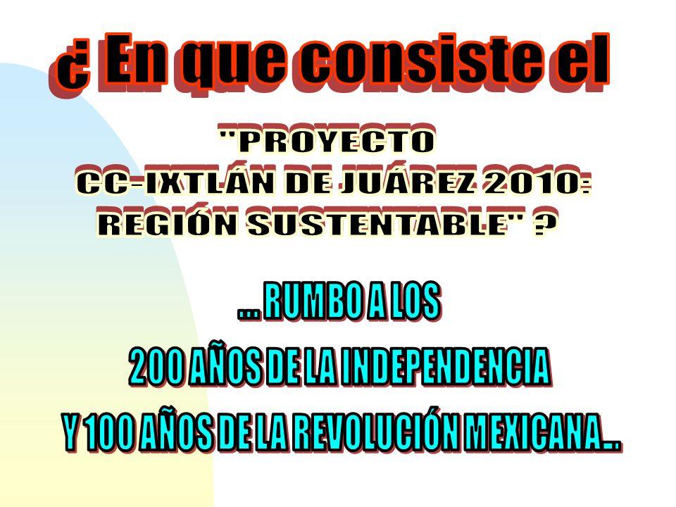200 AÑOS DE LA INDEPENDENCIA Y 100 AÑOS DE LA REVOLUCIÓN MEXICANA...