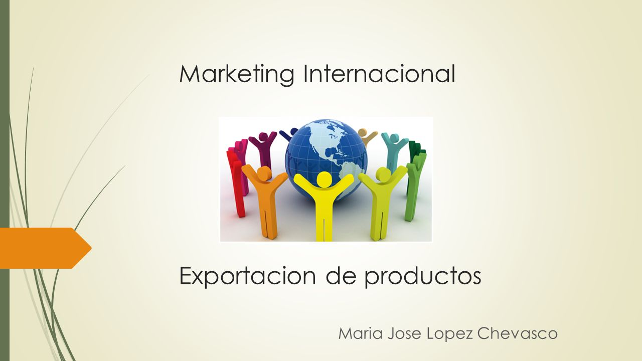 Marketing Internacional Exportacion de productos