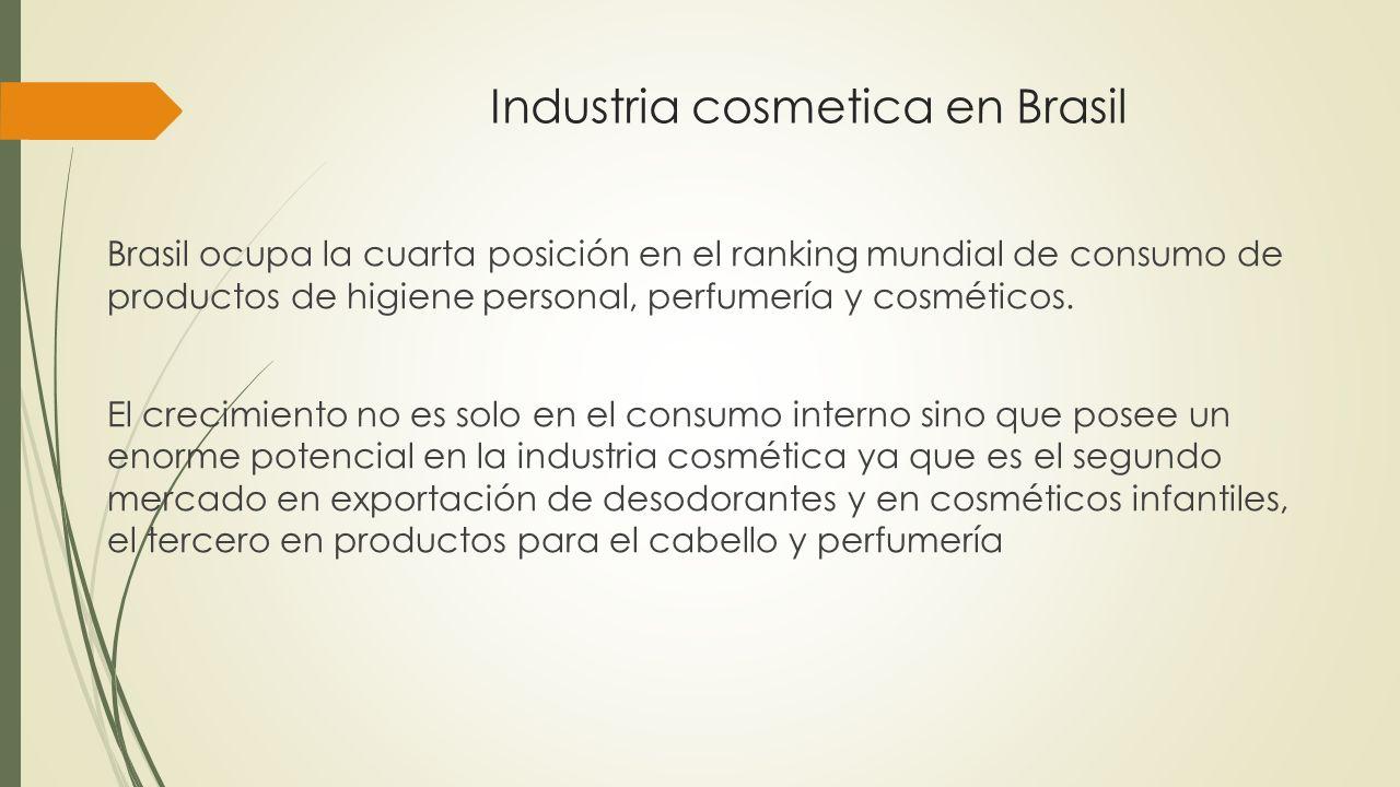 Industria cosmetica en Brasil