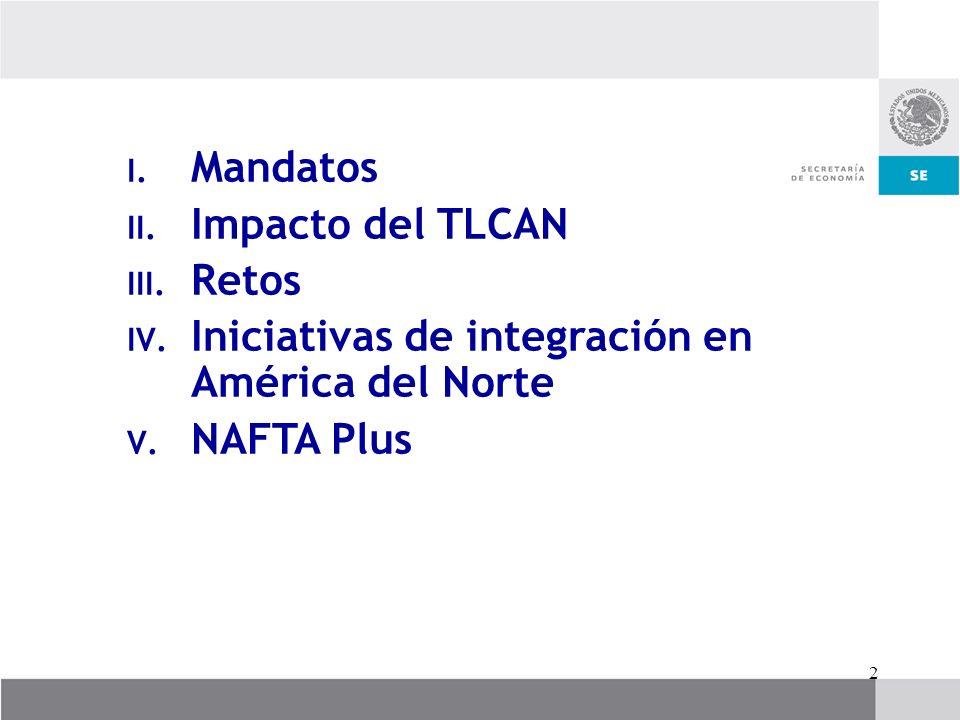 Iniciativas de integración en América del Norte NAFTA Plus
