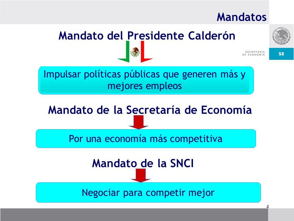Mandato del Presidente Calderón