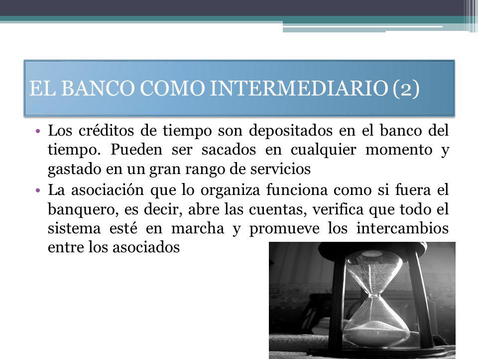 EL BANCO COMO INTERMEDIARIO (2)