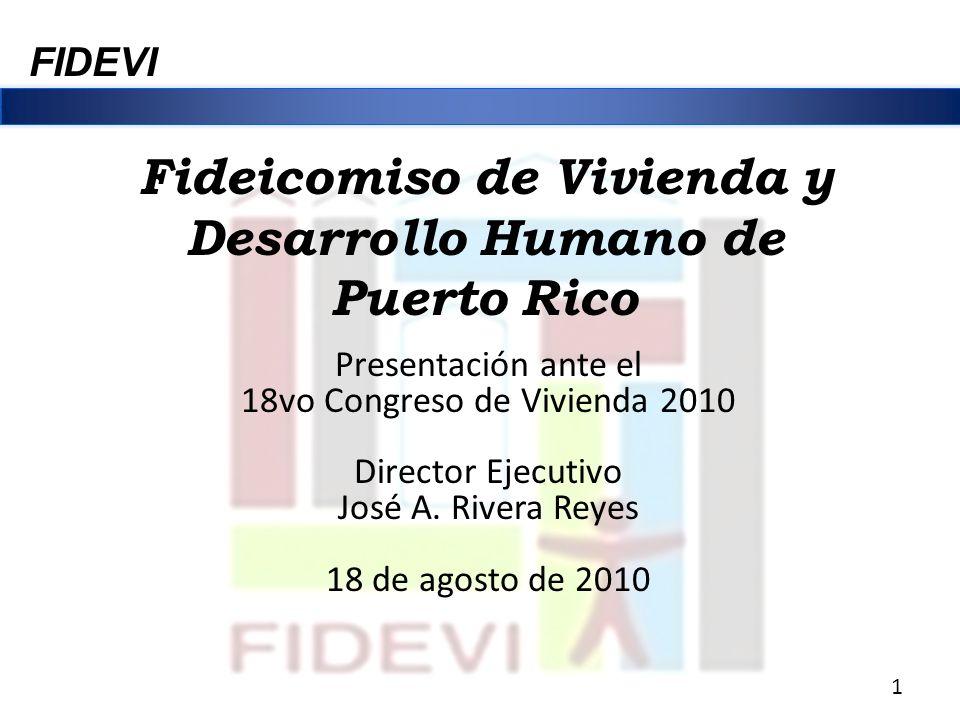 Fideicomiso de Vivienda y Desarrollo Humano de Puerto Rico