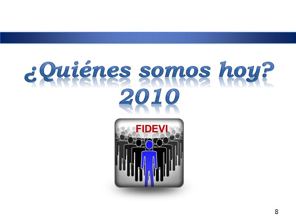 ¿Quiénes somos hoy 2010 FIDEVI