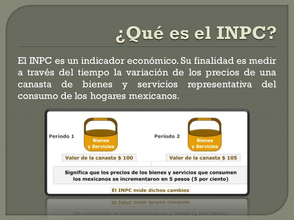 ¿Qué es el INPC