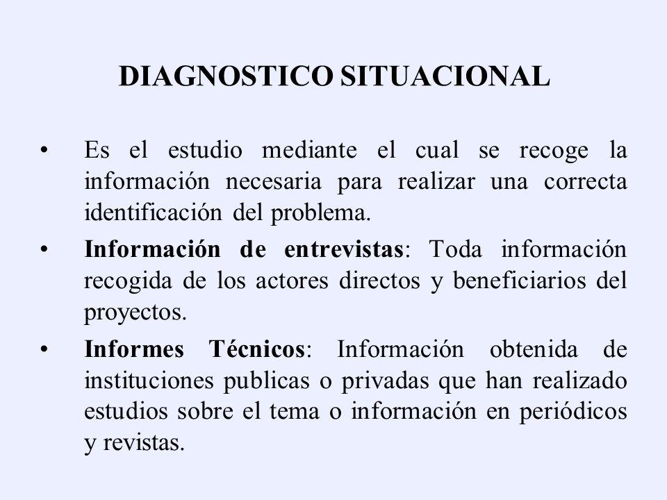 DIAGNOSTICO SITUACIONAL