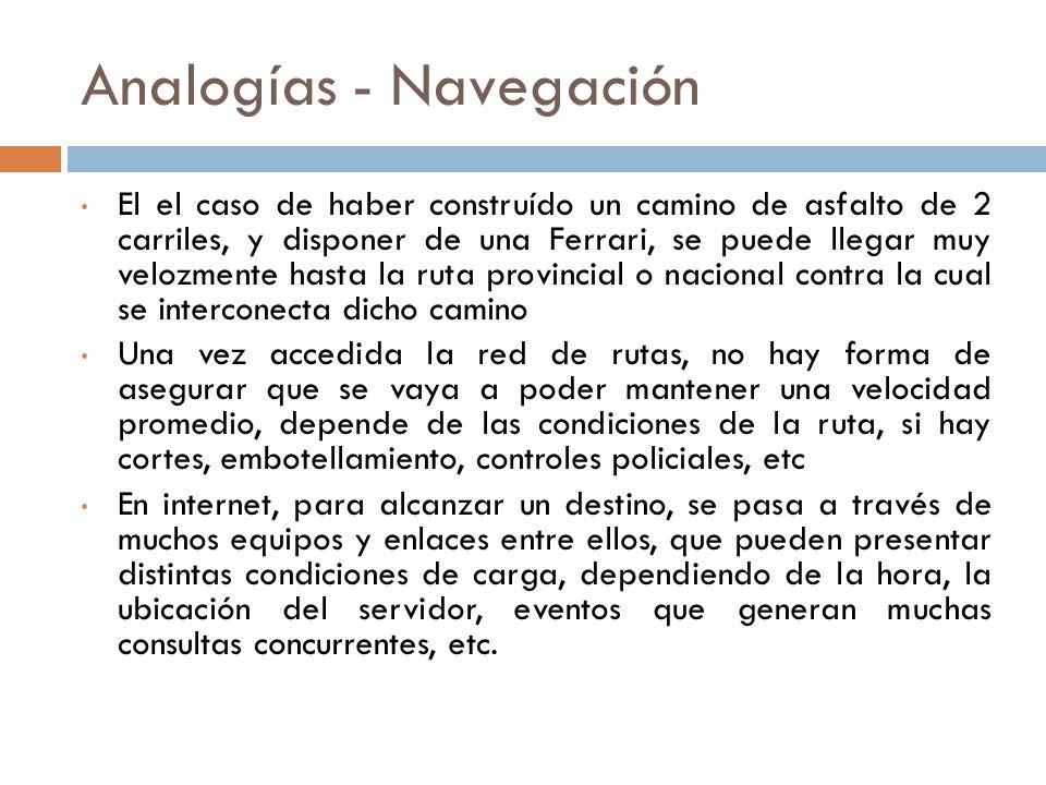 Analogías - Navegación