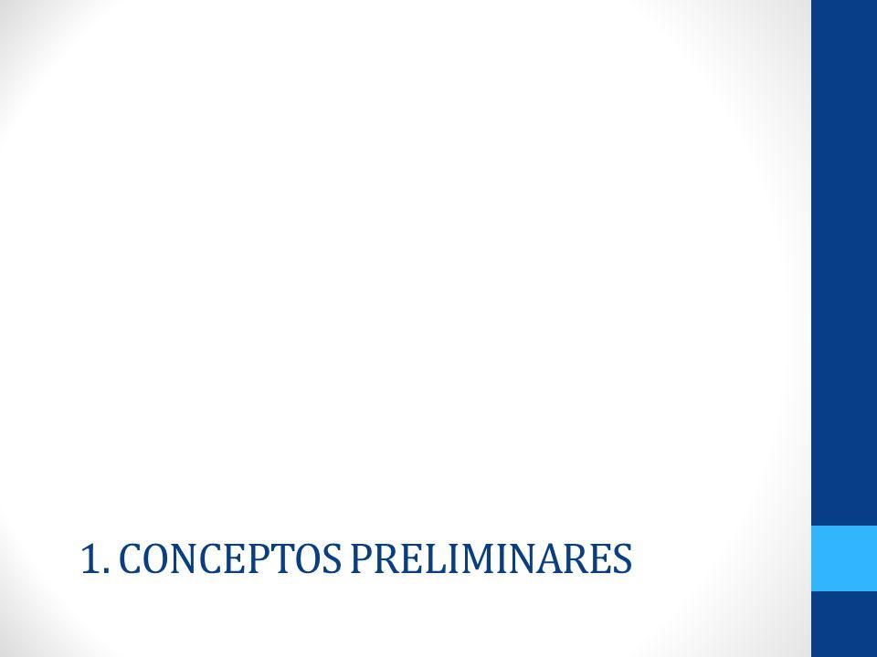 1. Conceptos Preliminares