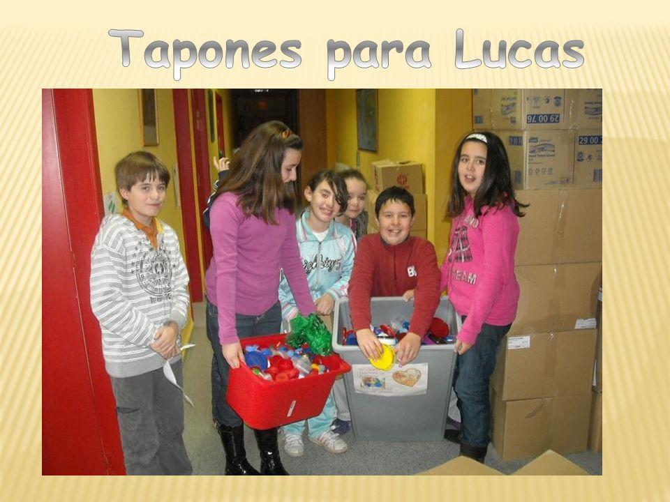 Tapones para Lucas