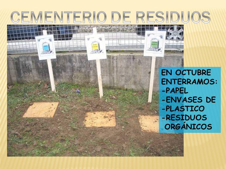 CEMENTERIO DE RESIDUOS
