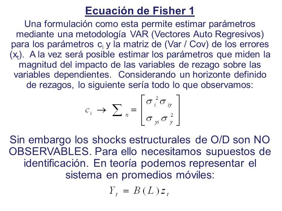 Ecuación de Fisher 1