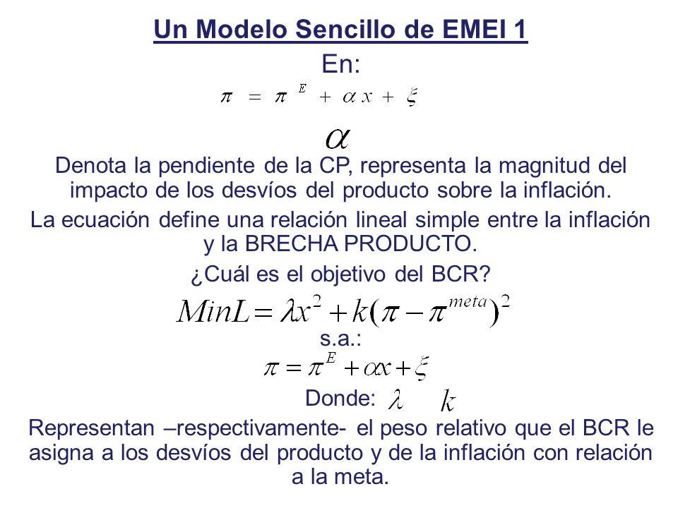 Un Modelo Sencillo de EMEI 1
