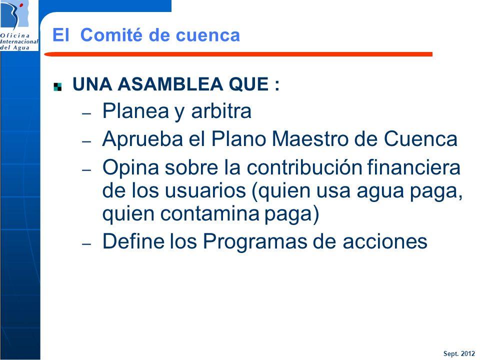 Aprueba el Plano Maestro de Cuenca