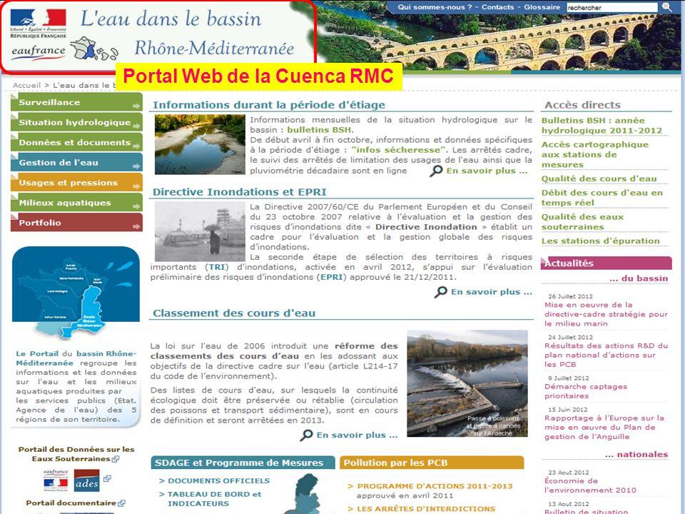 Portal Web de la Cuenca RMC