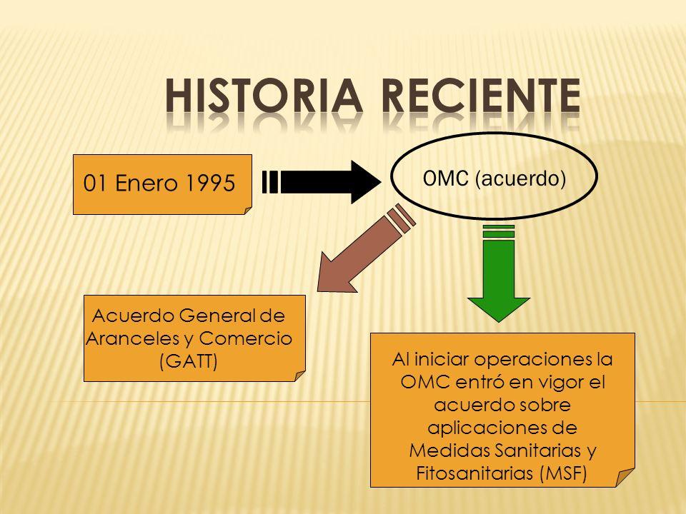 Acuerdo General de Aranceles y Comercio (GATT)