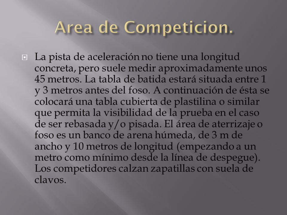 Area de Competicion.
