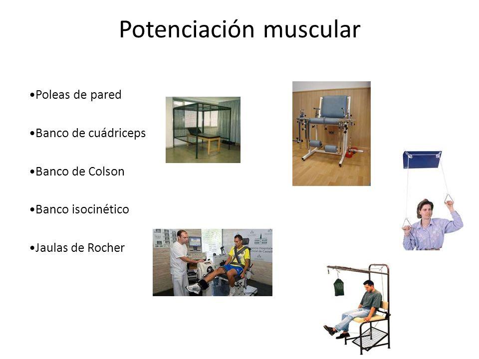 Potenciación muscular