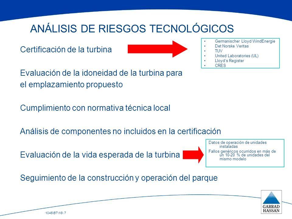 ANÁLISIS DE RIESGOS TECNOLÓGICOS