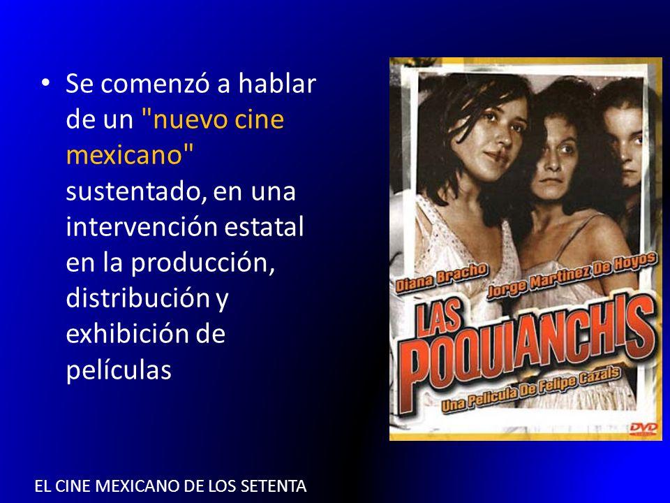 El cine mexicano de los setenta