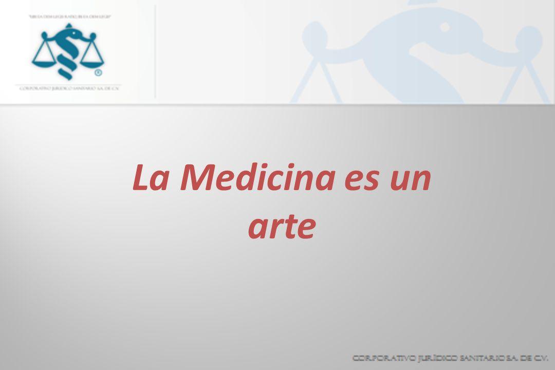 La Medicina es un arte