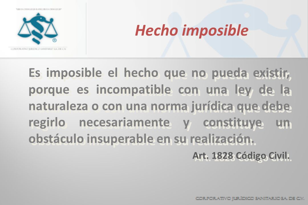 Hecho imposible