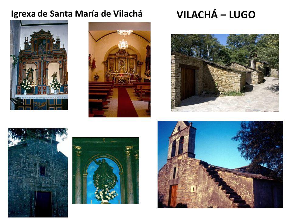 Igrexa de Santa María de Vilachá