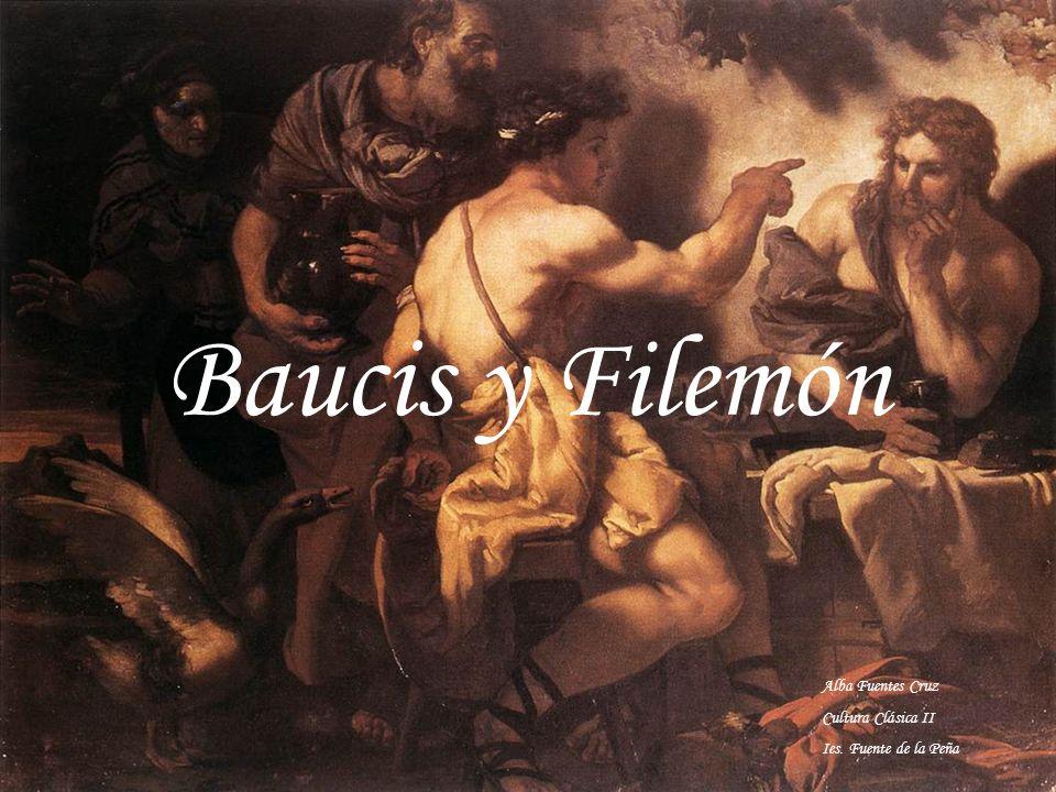 Baucis y Filemón Alba Fuentes Cruz Cultura Clásica II