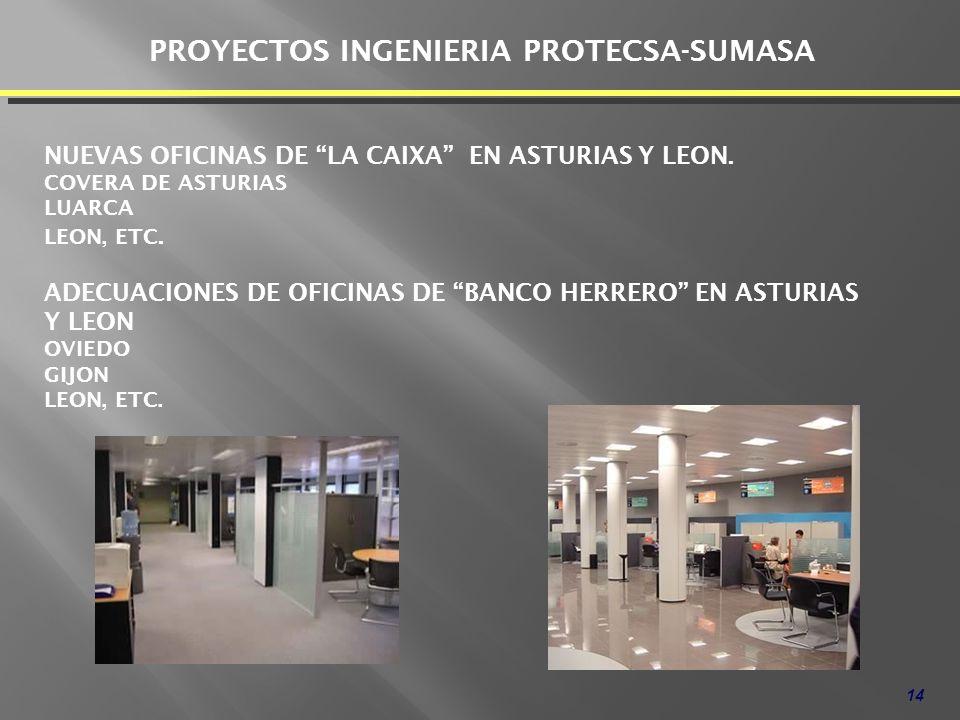 PROYECTOS INGENIERIA PROTECSA-SUMASA