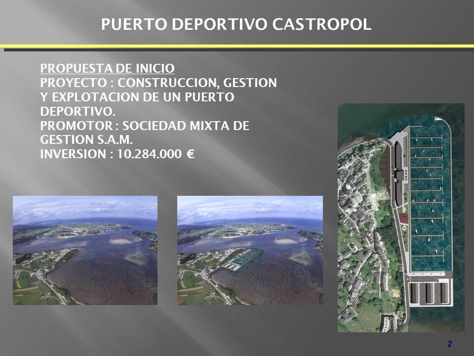 PUERTO DEPORTIVO CASTROPOL