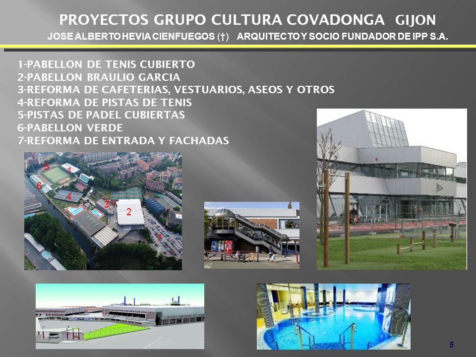 PROYECTOS GRUPO CULTURA COVADONGA GIJON