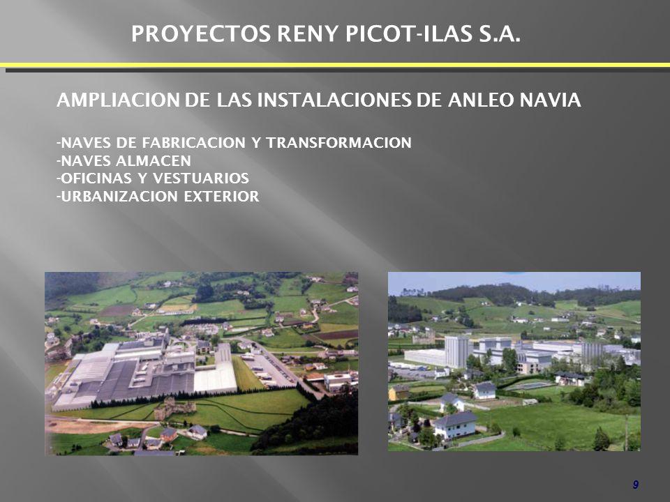 PROYECTOS RENY PICOT-ILAS S.A.