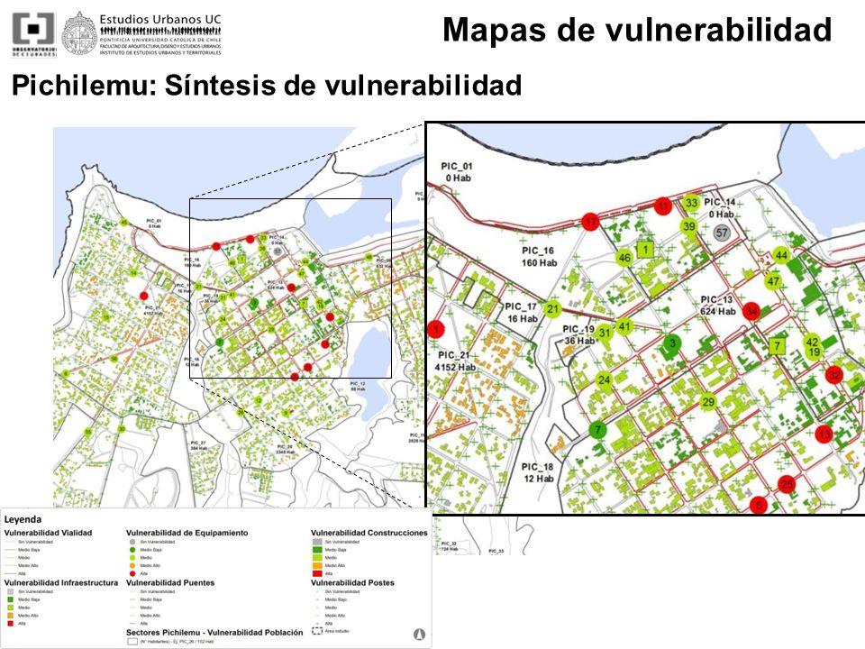 Mapas de vulnerabilidad