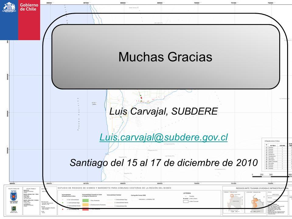 Santiago del 15 al 17 de diciembre de 2010