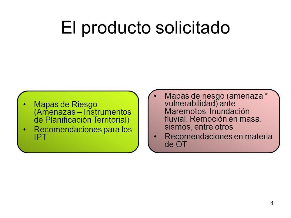 El producto solicitado