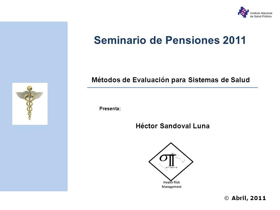 Seminario de Pensiones 2011