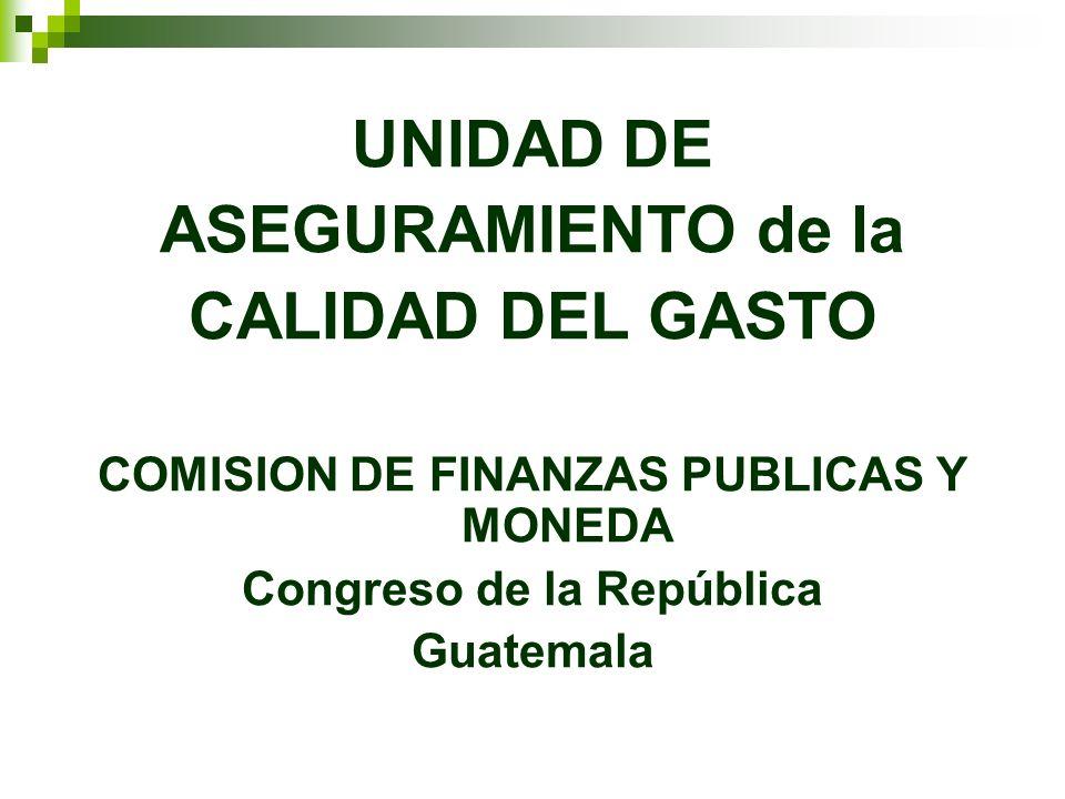 COMISION DE FINANZAS PUBLICAS Y MONEDA Congreso de la República