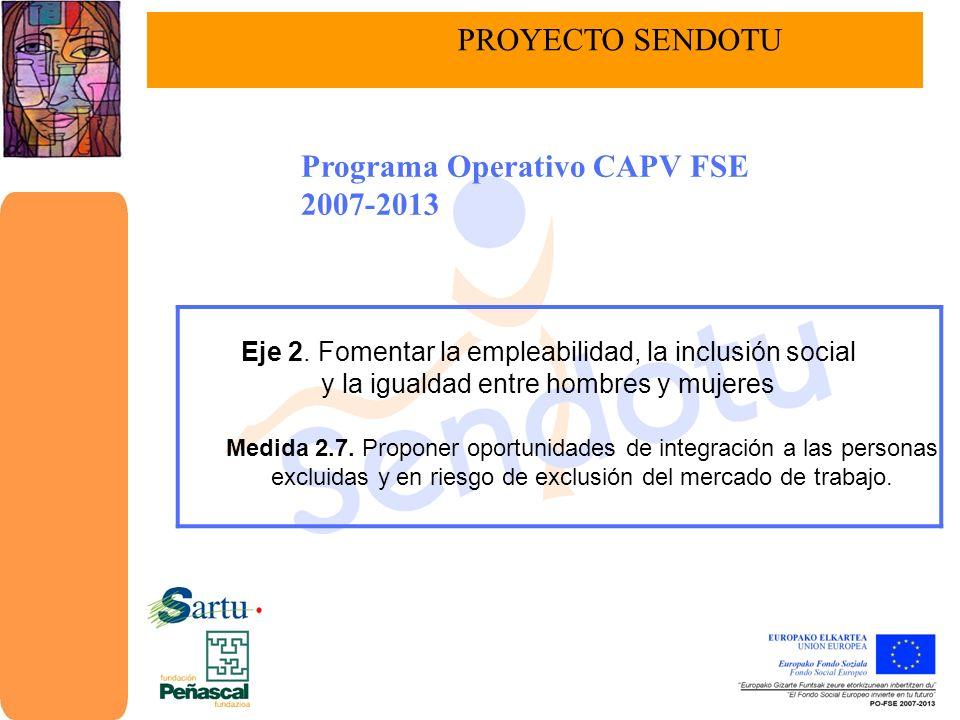 Programa Operativo CAPV FSE 2007-2013
