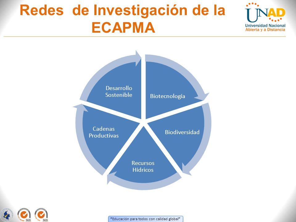 Redes de Investigación de la ECAPMA