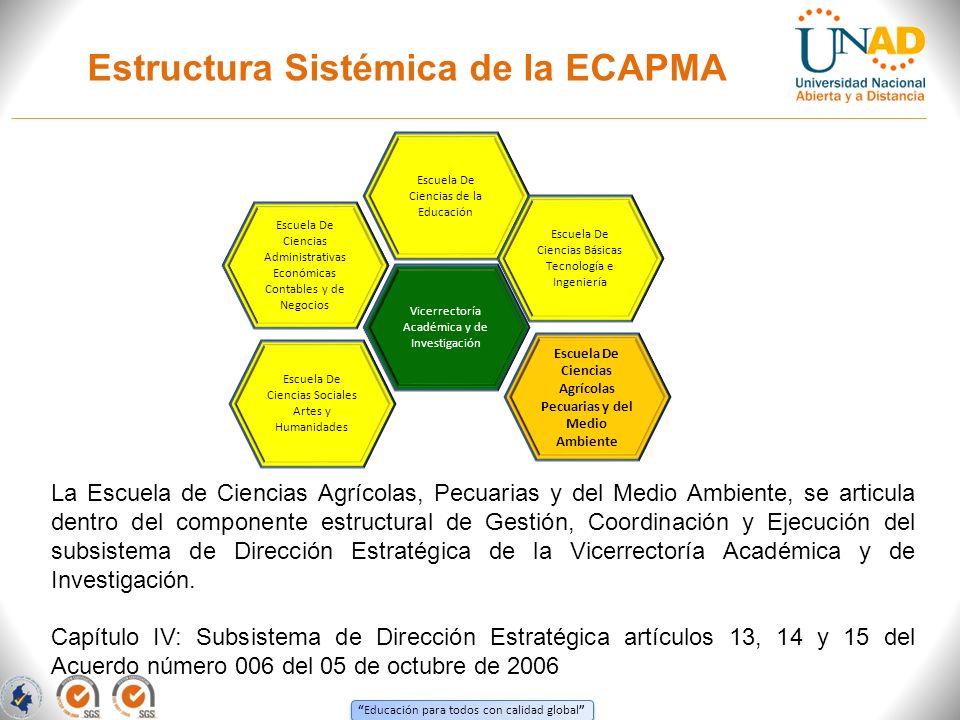 Estructura Sistémica de la ECAPMA