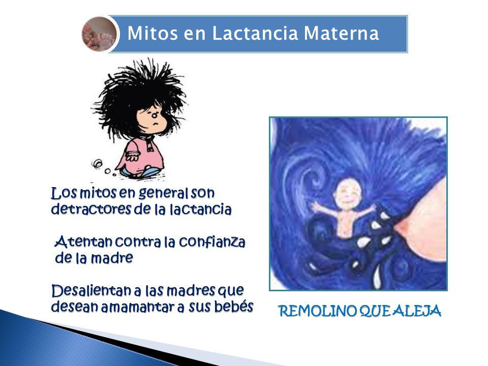 Mitos en Lactancia Materna