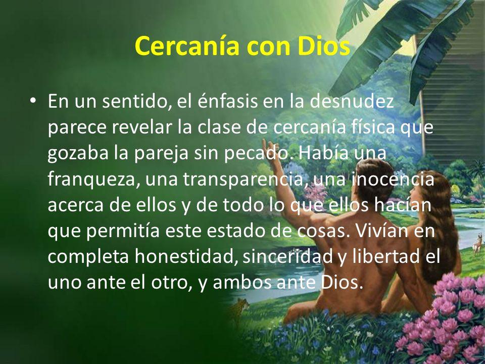 Cercanía con Dios